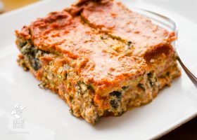 Vegan Gluten-free Spinach Lasagna - fullofbeans.us