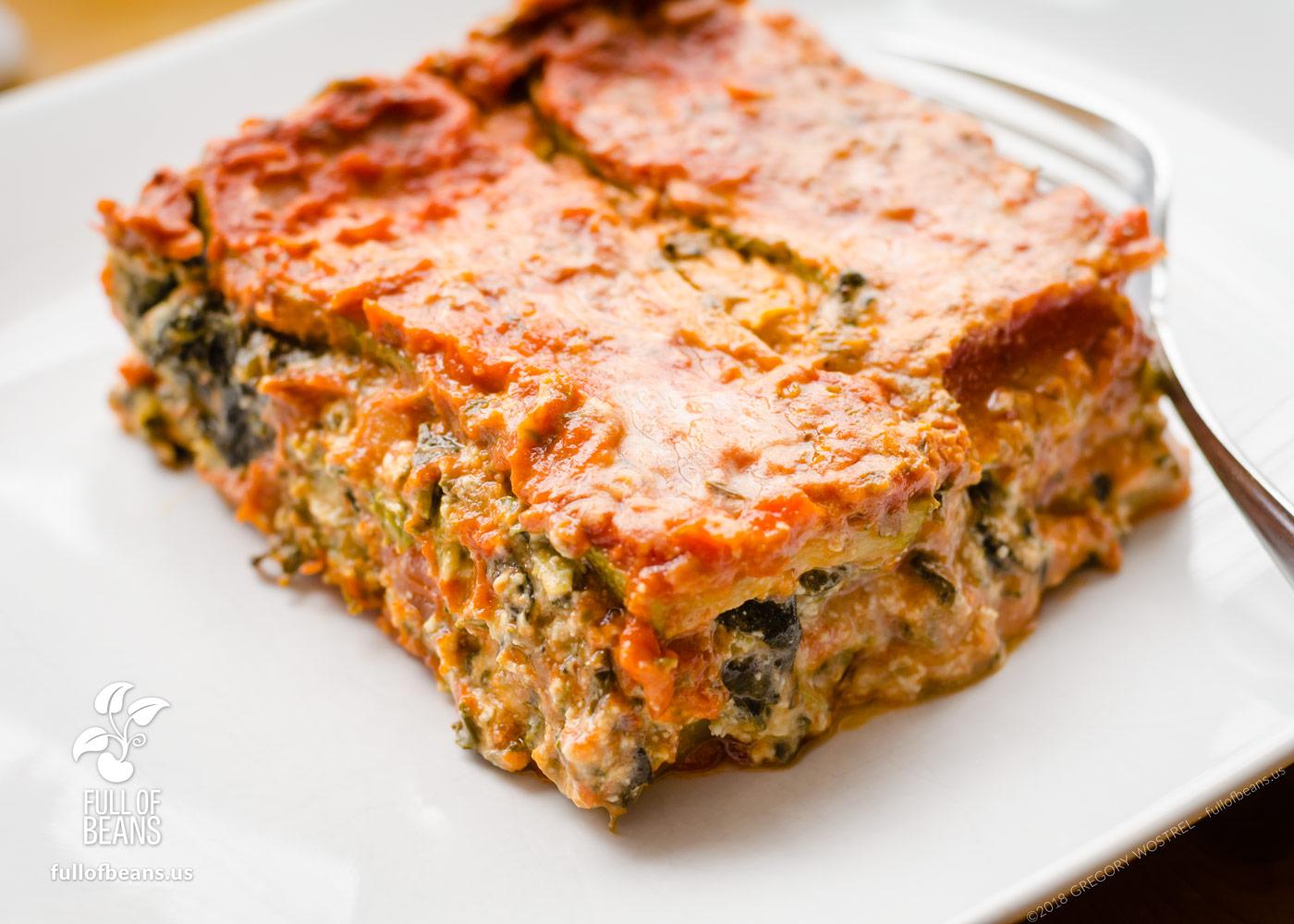 Vegan Gluten Free Lasagna Lasagne Full Of Beans