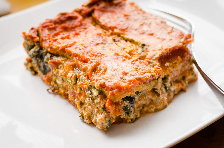Vegan Gluten Free Lasagne Plated