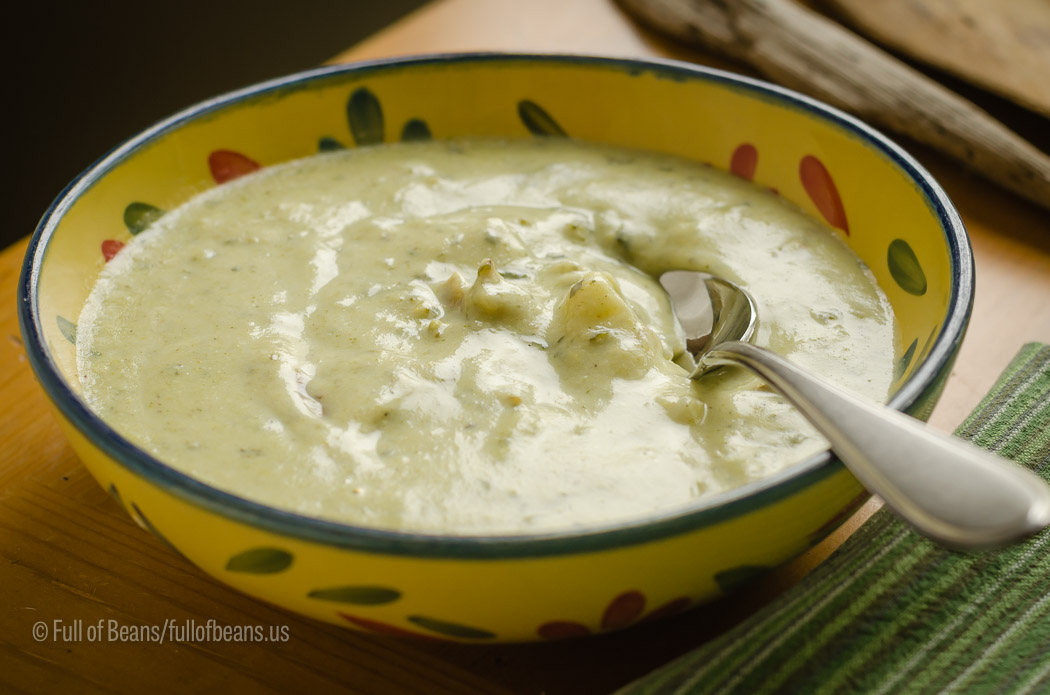 Creamy Broccoli Soup Lowangle