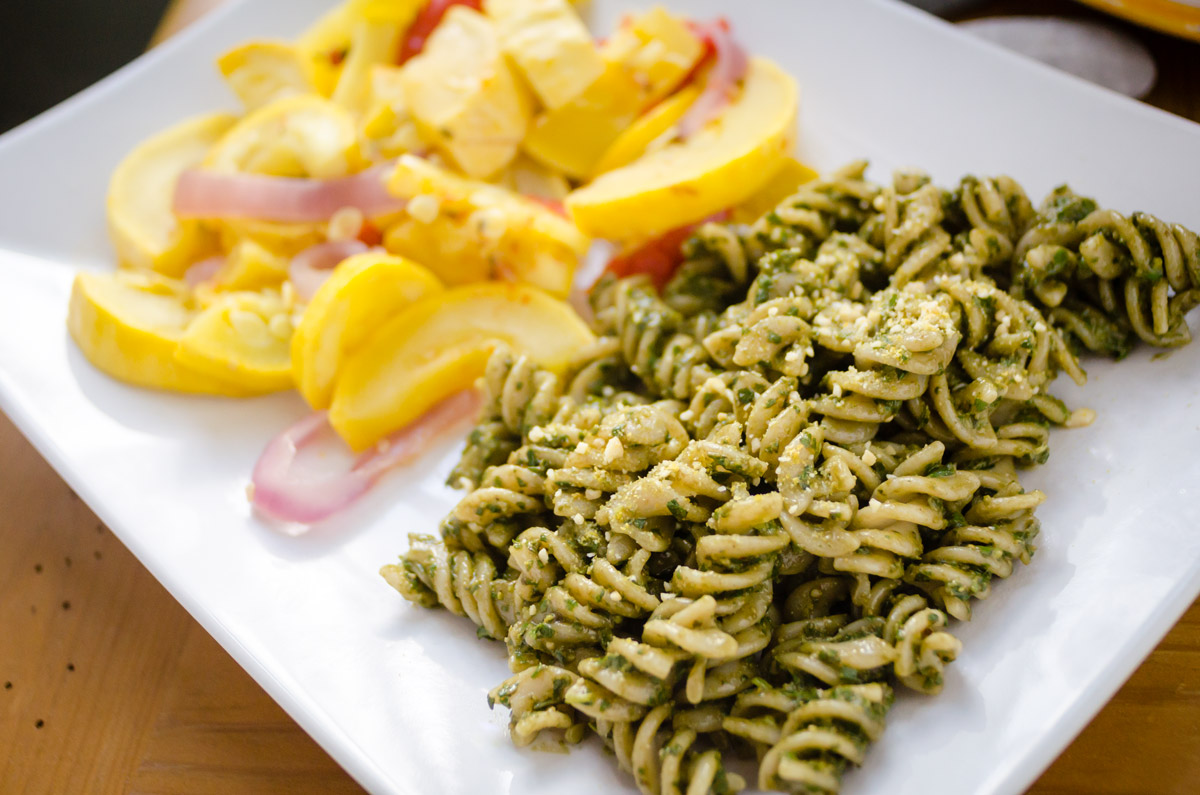 No Compromise Vegan Pesto You Can Make Tonight!