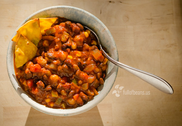 Vegan Cookout food: Killer Vegan Chili!
