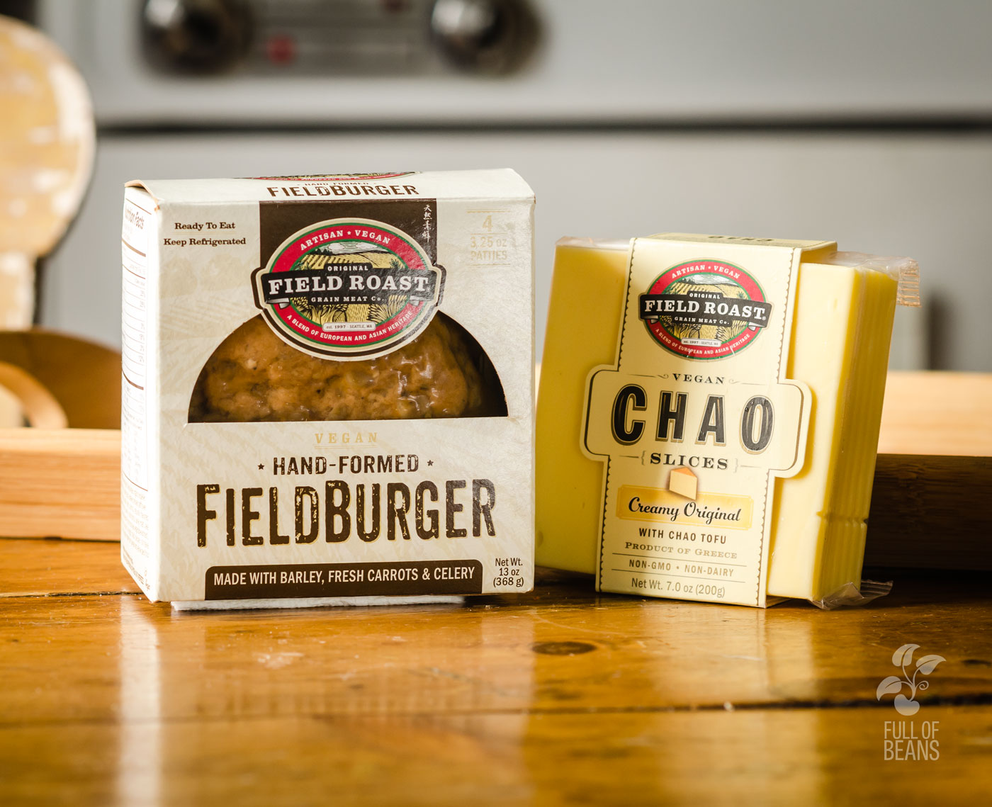 Field Roast FieldBurger And Chao Cheese Review